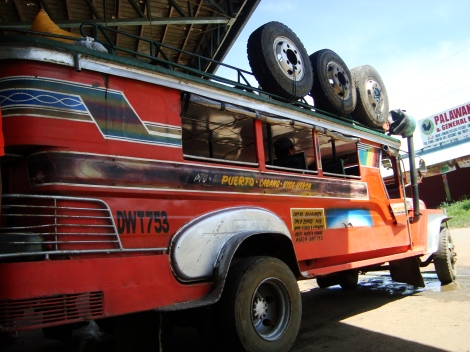 Jeepneys are a great and inexpensive way to travel around the Philippines