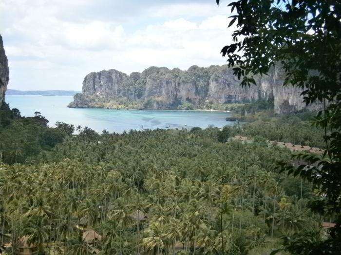 Vista point in Ao Nang, Thailand