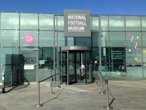 National Football Museum Entrance